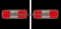 marine corps wo3 rank insignia synthetic embroidered