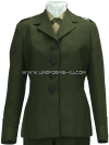 USMC SERVICE GREEN ALPHA FEMALE COAT