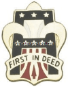 army 1st army unit crest