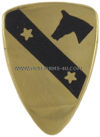 U.S. Army 1st Cavalry Division Unit Crest