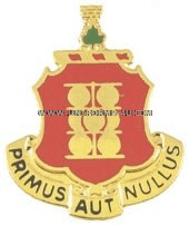 ARMY 1ST FIELD ARTILLERY REGIMENT UNIT CREST