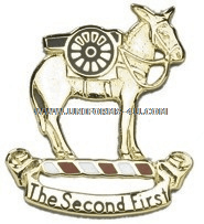 army 2nd field artillery regiment right hand unit crest