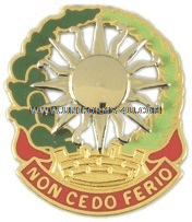 army 3rd air defense artillery regiment unit crest