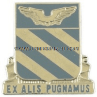 ARMY 3RD AVIATION REGIMENT UNIT CREST