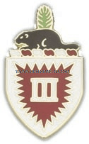 ARMY 3RD ENGINEER BATTALION UNIT CREST
