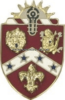 ARMY 3RD FIELD ARTILLERY REGIMENT UNIT CREST