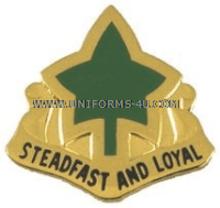 U.S. Army 4th Infantry Division Unit Crest