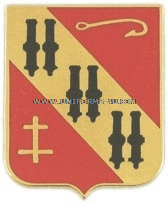 U.S. ARMY 5TH AIR DEFENSE ARTILLERY REGIMENT UNIT CREST