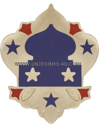 army 5th army unit crest