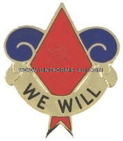 U.S. Army 5th Infantry Division Unit Crest
