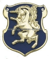 army 6th cavalry regiment unit crest