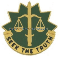army 6th military police group unit crest