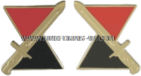 U.S ARMY 7TH INFANTRY DIVISION LEFT HAND UNIT CREST