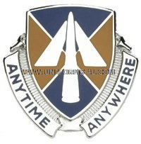 ARMY 9TH AVIATION BATTALION UNIT CREST