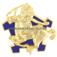 army 9th cavalry regiment unit crest