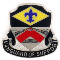 ARMY 9TH FINANCE BATTALION UNIT CREST