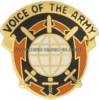 ARMY 9TH SIGNAL COMMAND UNIT CREST