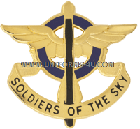 ARMY 10TH AVIATION REGIMENT UNIT CREST