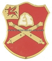 ARMY 10TH FIELD ARTILLERY REGIMENT UNIT CREST