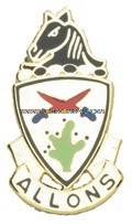 U.S. ARMY 11TH ARMORED CAVALRY REGIMENT UNIT CREST