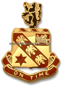 ARMY 11TH FILED ARTILLERY REGIMENT UNIT CREST