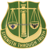 army 11th military police battalion unit crest