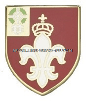 army 12th field artillery regiment unit crest