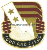 ARMY 12TH SIGNAL GROUP UNIT CREST