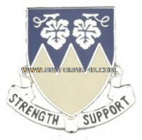 ARMY 13TH SUPPORT BATTALION UNIT CREST