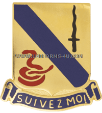 ARMY 14TH ARMORED CAVALRY REGIMENT UNIT CREST