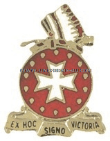 ARMY 14TH FIELD ARTILLERY REGIMENT UNIT CREST
