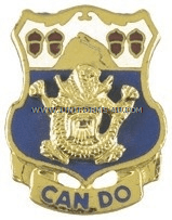 ARMY 15TH INFANTRY REGIMENT UNIT CREST