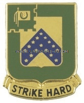ARMY 16TH CAVALRY REGIMENT UNIT CREST
