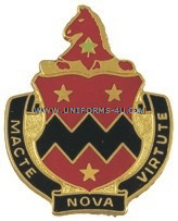 ARMY 16TH FIELD ARTILLERY BATTALION UNIT CREST