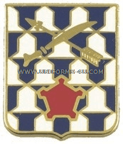 army 16th infantry regiment unit crest