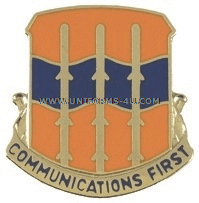 ARMY 16TH SIGNAL BATTALION UNIT CREST