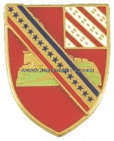 army 17th field artillery regiment unit crest
