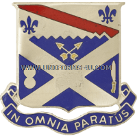 ARMY 18TH INFANTRY REGIMENT UNIT CREST