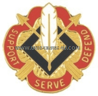 ARMY 18TH PERSONNEL GROUP UNIT CREST