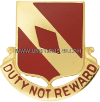 army 20th field artillery regiment unit crest