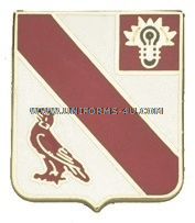ARMY 21ST FIELD ARTILLERY REGIMENT UNIT CREST