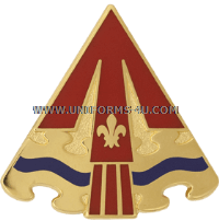 army 24th air defense artillery group unit crest