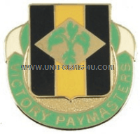 ARMY 24TH FINANCE BATTALION UNIT CREST