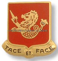 ARMY 25TH FIELD ARTILLERY REGIMENT UNIT CREST