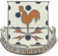 ARMY 25TH SIGNAL BATTALION UNIT CREST