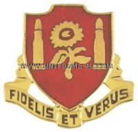 army 29th field artillery regiment unit crest