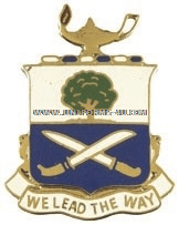 ARMY 29TH INFANTRY REGIMENT UNIT CREST