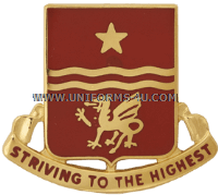 army 30th field artillery regiment unit crest