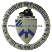 ARMY 30TH INFANTRY REGIMENT UNIT CREST