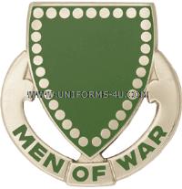 ARMY 33RD ARMOR REGIMENT UNIT CREST